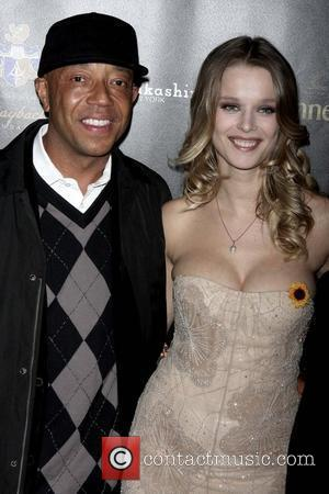 Russell Simmons and Helena Houdova