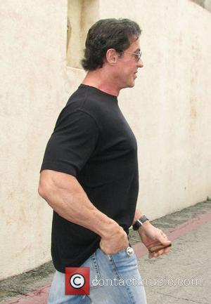 Sylvester Stallone  leaving Le Grand Passage carrying a cigar in Beverly Hills. Los Angeles, California, USA - 24.01.09