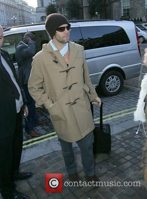 Howard Donald Take That members arriving at the BBC Radio 2 building London, England - 01.12.08