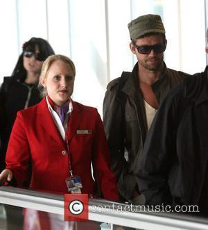 Jason Orange of Take That arriving at London's Heathrow airport after a night flight from LAX international London, England -...