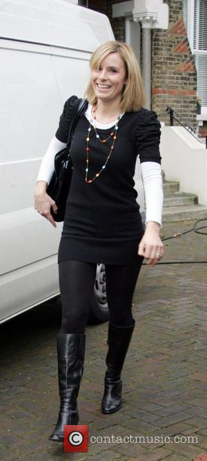 Tana Ramsay smiles for photographers as she leaves her house despite newspaper reports that her husband, celebrity chef Gordon Ramsay,...