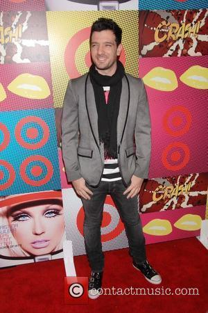 JC Chasez The Target and Christina Aguilera celebration of A Night of Music event held at the Target Terrace at...