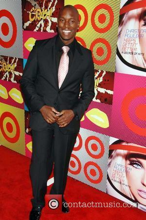 Tyrese The Target and Christina Aguilera celebration of A Night of Music event held at the Target Terrace at LA...