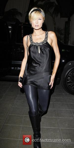 Paris Hilton at Teddy's Nightclub Los Angeles, California - 28.02.09