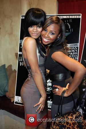 Teyana Taylor and Young B. Teyana Taylor's 18th birthday party held at Kush New York City, USA - 09.12.08