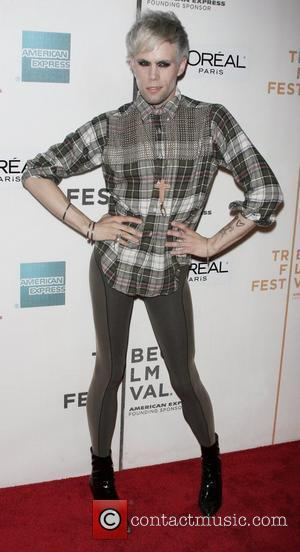 Justin Tranter New York Premiere of 'Serious Moonlight' at the Tribeca Film Festival held at BMCC Tribeca Performing Arts Center...