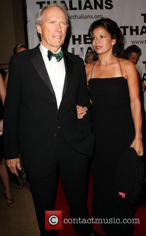 Clint Eastwood and Dina Ruiz Eastwood