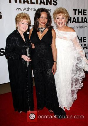 Debbie Reynolds, Dina Ruiz Eastwood and Ruta Lee   'The Thalians' 53rd Annual Gala honouring Clint Eastwood, held at...