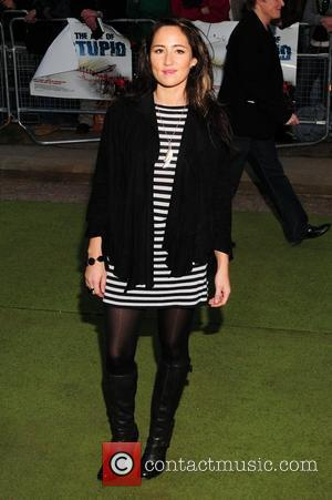 KT Tunstall 'The Age of Stupid' UK film premiere held at Leicester Square gardens in a solar powered tent -...