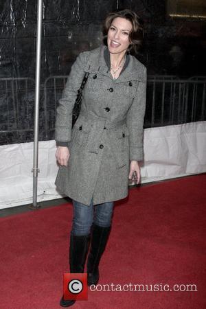 Alana De La Garza at Cinema Society Hosts a Screening of 'The International' - Arrivals New York City, USA -...