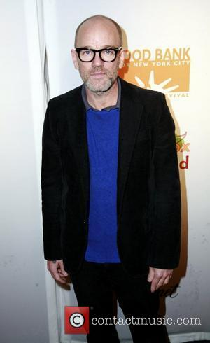 michael stipe the lunchbox auction presented by gourmet 3rd annual fundraiser to benefit food bank for new york city and...