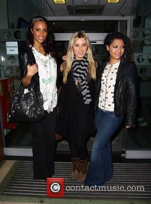 Rochelle Wiseman, Mollie King and Vanessa White of The Saturdays at Radio One London, England - 11.01.09