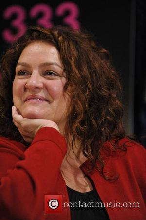 Aida Turturro makes an in-store appearance to celebrate the DVD release of 'The Sopranos: The Complete Series' at HMV Toronto,...