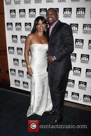 Nia Long and Mekhi Phifer Thurgood Marshall College Fund 21st Anniversary Awards Dinner Gala at the Sheraton New York Citty,...