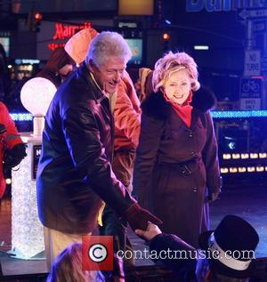 Bill Clinton and Hilary Clinton The Times Square New Year's Eve Ball New York City, USA - 31.12.08