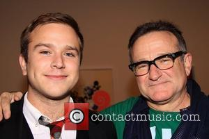 Robin Williams and Zachary Pym Williams