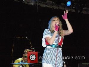 Jules De Martino and Katie White The Ting Tings perform at The Music Hall of Williamsburg New York City, USA...