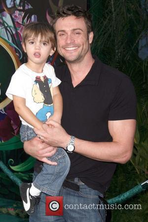 Daniel Goddard and Ford Goddard 'Tinker Bell' DVD and Blu-ray premiere held at the Capitan Theater Los Angeles, CA -...
