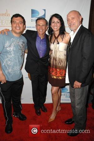 Carlos Mencia, Tony Plana, Actress Shayla Rivera and Hector Elizondo