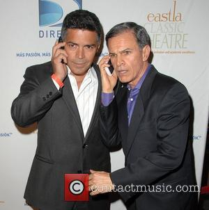 Esai Morales and Carlos Mencia