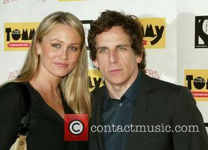 Christine Taylor and Ben Stiller at The Who's Tommy: 15th Anniversary Concert held at the August Wilson Theatre New York...
