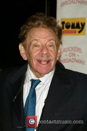 Jerry Stiller at The Who's Tommy: 15th Anniversary Concert held at the August Wilson Theatre New York City, USA -...