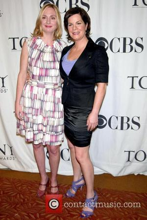 Hope Davis and Marcia Gay