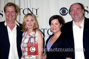 Jeff Daniels, James Gandolfini and Marcia Gay