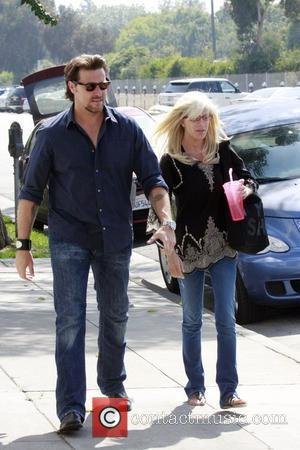 Tori Spelling and Dean Mcdermott Having Lunch At M Cafe In Santa Monica After Spending The Day At A Hair Salon