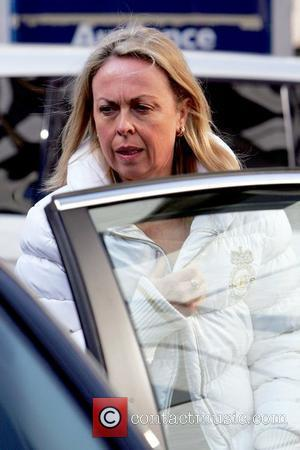 Jayne Torvill leaving the London Studios after appearing on 'This Morning' London, England - 19.03.09