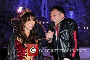 Linda Lusardi, Toby Anstis Gala opening of the Tower Of London Ice Rink in aid of Rays of Sunshine Children's...
