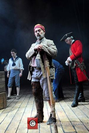 Keith Allen as Long John Silver 'Treasure Island' at the Theatre Royal - Photocall London, England - 14.11.08