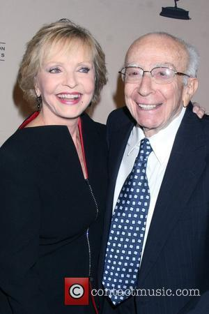 Florence Henderson and Sherwood Schwartz