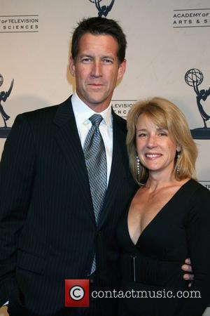 James Denton and his wife Erin O'Brien  Academy Of Television Arts And Sciences' Hall Of Fame Ceremony - Arrivals...
