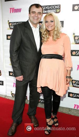 Simon Gregson and Emma Gleave The Sensations TV Now Awards 2009 held at The Mansion House - Arrivals Dublin, Ireland...