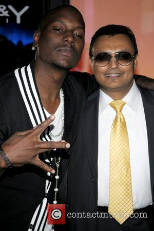 Tyrese Gibson and Clive Seecomar Birthday celebration for Tyrese at Karu & Y Lounge  Miami, Florida - 26.12.08