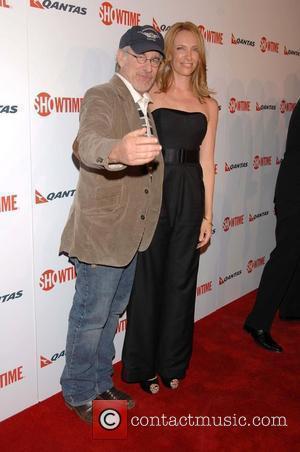 Steven Spielberg and Toni Collette