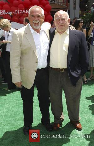 Ed Asner and John Ratzenberg