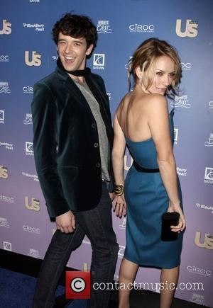 Michael Urie and Becki Newton US weekly Hot Hollywood issue - arrivals at Skylight New York City, USA - 21.10.08