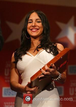 Mayra Veronica  67th annual USO World Gala honoring military heroes and outstanding volunteers Washington DC, USA - 01.10.08