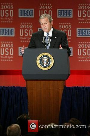 President George W. Bush 67th annual USO World Gala honoring military heroes and outstanding volunteers Washington DC, USA - 01.10.08