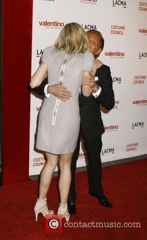 Gwyneth Paltrow and Valentino Garavani