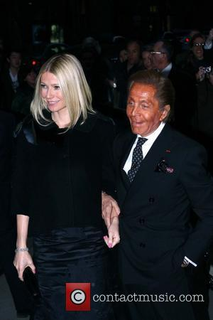 Gwyneth Paltrow and Valentino Garavani