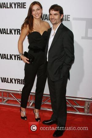 Ingrid Vandebosch, Jeff Gordon  New York Premiere of 'Valkyrie' at Fredrick P. Rose Hall in Time Warner Centre New...