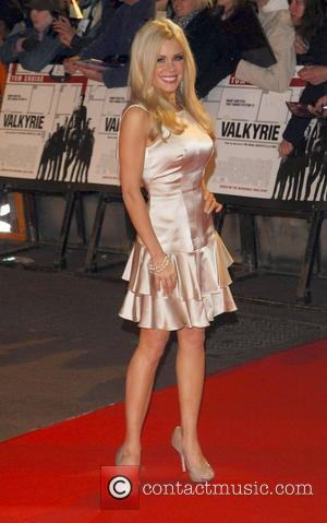 Melinda Messenger UK premiere of 'Valkyrie' - arrivals London, England - 21.01.09