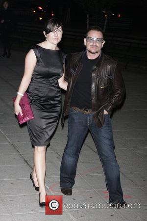 Bono and His Wife Ali Hewson