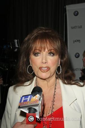 Jackie Collins Vanity Fair Hosts BMW Art Car Installation Launch Party Los Angeles County Museum of Art (LACMA) - Arrivals...