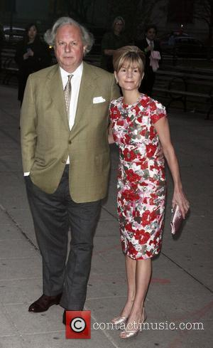 Graydon Carter and Anna Scott