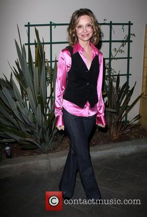 Calista Flockhart VDay Santa Monica's celebrity reading of The Vagina Monologues held at Santa Monica College, Performing Arts Center Los...