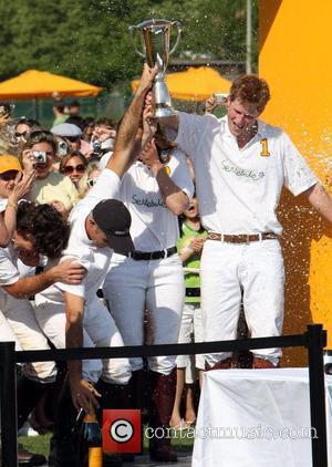 Prince Harry of Wales plays in the 2nd Annual Veuve Clicquot Manhattan Polo Classic held at Governors Island New York...